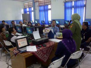 Tempat UKG di TKJ SMK Negeri 1 Jakarta