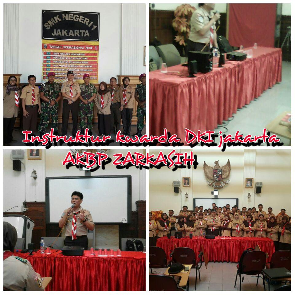 Instruktur Kwarda DKI Jakarta AKBP Zarkasih