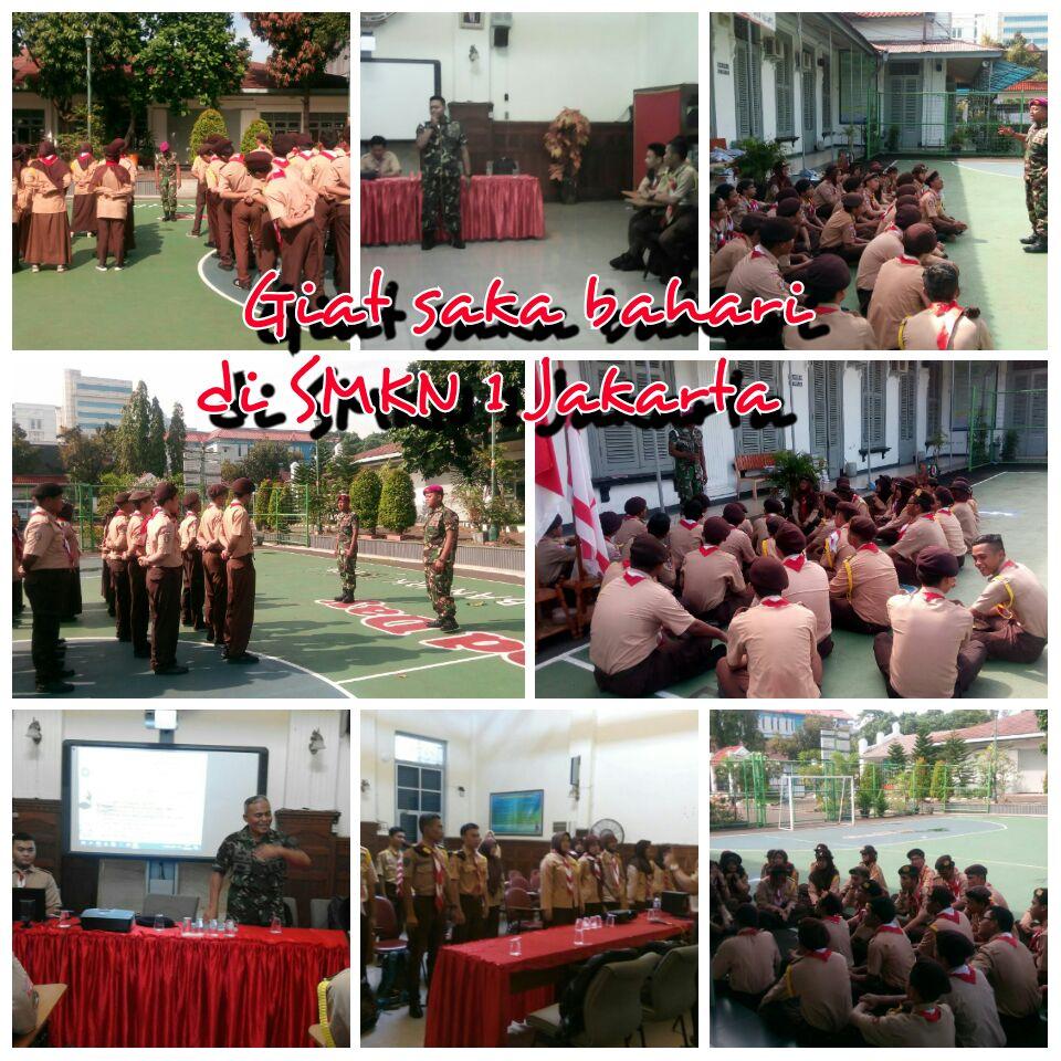 Giat Saka Bahari di SMKN 1 Jakarta