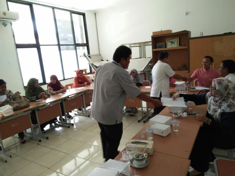 Pemantauan dari Rayon 01 Jakarta Pusat Bpk. R. Wisnu Sarjono