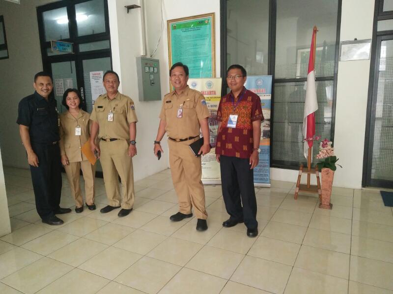 Pemantauan Dari Inspektorat Prov.DKI Pak.Sigit, Pak Umar dan Ibu Kartini