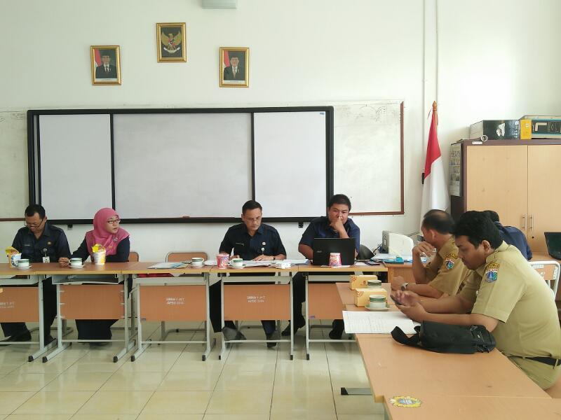 Pemantau : Bpk. Budiyanto dan Bpk. Nopi Syahrial Dari Biro Dikmental Setda Provinsi DKI Jakarta