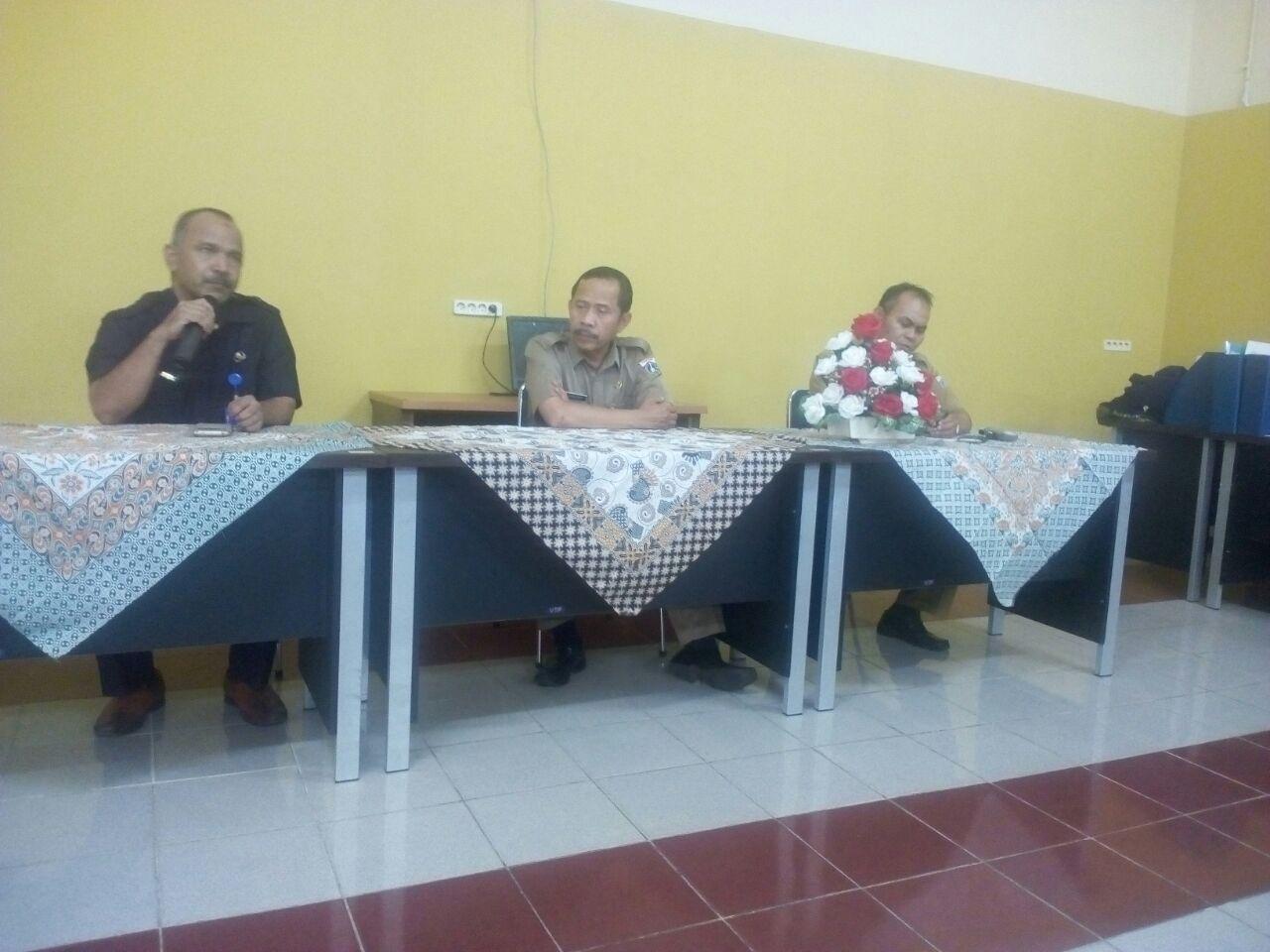 Sosialisasi Kasi dan Pengawas SMK Sudindik Wil I Jakpus di SMKN 1 Jakarta